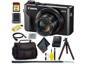 Canon PowerShot G7 X Mark II Digital Camera + 64GB Memory Bundle