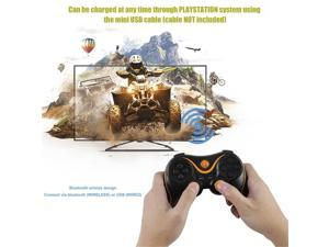 Bluetooth Wireless Joystick Pad Game Console Controller For Playstation PS3 Universal Gamer Home Gaming Device