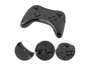 Wireless Controller Gamepad Joypad Joystick Remote Black Wireless Controller for Nintendo Wii U Pro