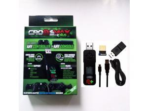 CronusMax Plus Cross Cover Gaming Adapter for PS4 PS3 Xbox One Xbox 360 Windows PC 2018 Version with Add On Pack +USB Sound Card + Bluetooth 4.0 Adapter