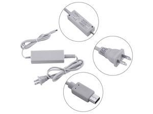 Universal Compact Power Supply Charging AC Adapter Cable Cord For Nintendo For Wii U Gamepad Input AC 100V-240V