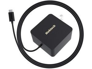 Nekteck 45W USB-C Wall Charger with PPS, Fast Charging Adapter with Power Delivery [USB-IF Certified]for MacBook Pro, Chromebook, Dell XPS, iPad Pro, Google Pixel and Other USB C Devices