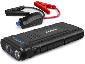 Nekteck Car Jump Starter 19800mAh 2000A Portable Jump Starters(Suited for 10L gas or 7L diesel cars) With 12V LED Light, USB Quick Charger, Intelligent Battery Clamps, UL 2743(SGS Certified)