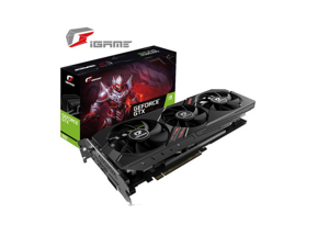 Colorful Gaming GeForce GTX 1650 128-Bit HDMI/DP/DVI 4GB GDRR6 Graphics Card, Three Fans for Cooling,PCI Express 3.0 16X
