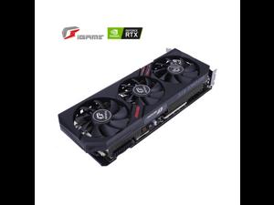 Coloful GeForce RTX 2060 Ultra,6GB 192-Bit GDDR6 Gaming Graphics Card, PCI Express 3.0 16X,Three-Fan,1X HDMI /1x DisplayPort /1x DVI