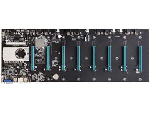 New BTC-S37 Mining Machine Motherboard 8 PCIE 16X Graph Card SODIMM DDR3 SATA3.0 Support VGA + HDMI-Compatible