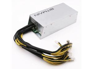Bitmain APW3++ PSU for Antminer D3 S9 / L3 1600 W 100V-240V (with 15A NA power cord)