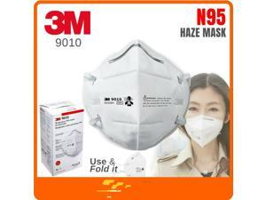 5PCS 3M 9010CN N95 Face Mask Respirator KN95 Non medical NIOSH APPROVED, see pictures. Same Day Ship!