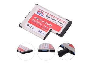 VAKIND USB 3.0 Expansion PCI Express Card Adapter Dual 2 Ports HUB PCI Express Card PCMCIA USB Converter For Laptop Notebook