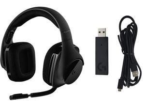 Logitech G533 Wireless Gaming Headset – DTS 7.1 Surround Sound – Pro-G Audio Drivers for PC with USB Wireless Adapter
