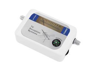 DVB-T Finder Digital Aerial Terrestrial TV Antenna Signal Strength Meter White