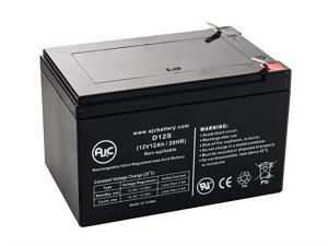 MK ES12-12, ES 12-12 12V 12Ah UPS Battery - This is an AJC Brand Replacement