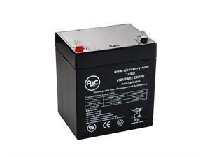Ritar RT1245, RT 1245 12V 5Ah UPS Battery - This is an AJC Brand Replacement