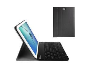 Fintie Keyboard Case for Samsung Galaxy Tab S2 9.7 - Slim Fit Light Weight Stand Cover with Magnetically Detachable Wireless Bluetooth Keyboard for Samsung Galaxy Tab S2 9.7-inch Tablet, Black