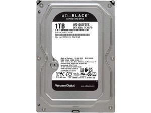 """Western Digital 1TB WD Black Performance Internal Hard Drive HDD - 7200 RPM, SATA 6 Gb/s, 64 MB Cache, 3.5"""""""