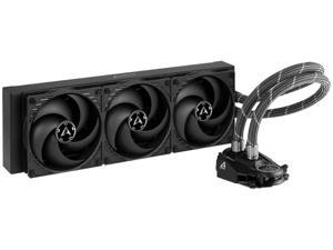 ARCTIC Liquid Freezer II 360 - Multi Compatible All-in-One CPU AIO Water Cooler Compatible with Intel & AMD Efficient PWM Controlled Pump Fan Speed: 200-1800 RPM (Controlled via PWM) - Black