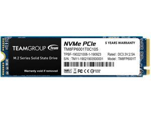 Team Group MP33 M.2 2280 1TB PCIe 3.0 x4 with NVMe 1.3 3D NAND Internal Solid State Drive (SSD) TM8FP6001T0C101