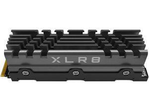 PNY XLR8 CS3040 4TB M.2 NVMe Gen4 x4 Internal Solid State Drive (SSD) with Heatsink - M280CS3040HS-4TB-RB