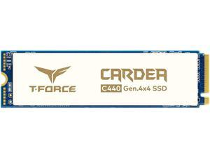 TEAMGROUP T-Force CARDEA Ceramic C440 1TB with DRAM SLC Cache and Aerospace Ceramic Material 3D NAND TLC NVMe PCIe Gen4 x4 M.2 2280 Gaming Internal SSD Read/Write 5,000/4,400 MB/s TM8FPA001T0C410