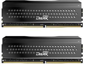 TEAMGROUP T-Force Dark Pro Samsung IC 16GB Kit (2x8GB) DDR4 Dram 3200MHz (PC4-25600) CL14 Desktop Memory Module Ram (Gray) - TDPGD416G3200HC14ADC01