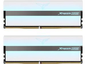 TEAMGROUP T-Force Xtreem ARGB 3600MHz CL18 32GB (2x16GB) PC4-28800 Dual Channel DDR4 DRAM Desktop Gaming Memory Ram (White) - TF13D432G3600HC18JDC01