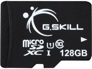 G.Skill 128GB microSDXC UHS-I/U1 Class 10 Memory Card with OTG (FF-TSDXC128GC-U1)