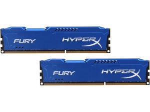 HyperX FURY 16GB (2 x 8GB) 240-Pin DDR3 SDRAM DDR3 1600 (PC3 12800) Desktop Memory Model HX316C10FK2/16