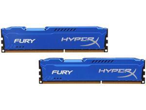 HyperX FURY 16GB (2 x 8GB) 240-Pin DDR3 SDRAM DDR3 1333 (PC3 10600) Desktop Memory Model HX313C9FK2/16