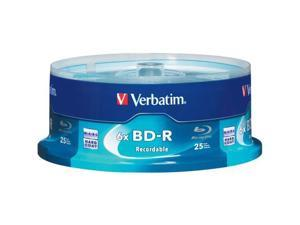 Verbatim 25GB 6X BD-R 25 Packs Spindle Disc Model 97457