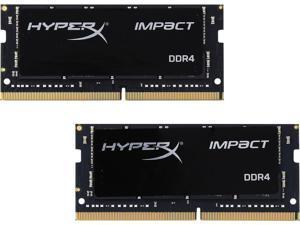 HyperX Kingston Technology Impact 32GB Kit (2x16GB) 2400MHz DDR4 CL14 260-Pin SODIMM Laptop HX424S14IBK2/32