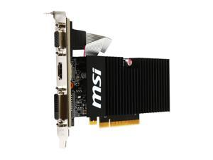 MSI Gaming GeForce GT 710 1GB GDRR3 64-bit HDCP Support DirectX 12 OpenGL 4.5 Heat Sink Low Profile Graphics Card (GT 710 1GD3H LPV1)