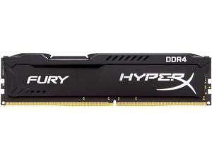 HyperX Fury 16GB (1 x 16GB) DDR4 2400MHz DRAM (Desktop Memory) CL15 1.2V Black DIMM (288-pin) HX424C15FB/16 (Intel XMP, AMD Ryzen)
