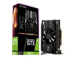 EVGA GeForce GTX 1660 Ti XC Gaming, 6GB GDDR6, HDB Fan Graphics Card 06G-P4-1263-KR