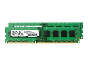 1GB RAM Memory for ASRock Motherboards P67 Extreme6 240pin PC3-10600 DDR3 DIMM 1333MHz Black Diamond Memory Module Upgrade