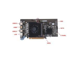 BTC-HM65 8PCIE Mining Board DDR3 Memory M.2 SSD Support HDMI Output Mainboard