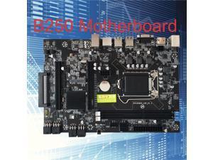 B250 Straight Motherboard DDR3 12x PCI-E X16 Card Sot LGA 1151 BTC Motherboard