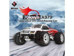 WLtoys A979-B 2.4GHz 1/18 Scale Full Proportional 4WD RC Car 70KM/h High Speed Brushed Motor Electric RTR Off-road Truck