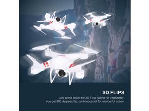 KY101 WiFi FPV Wide Angle 1080P Camera Selfie RC Drone Altitude Hold Headless Mode 3D Flips One Key Return Quadcopter