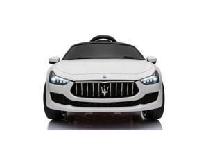 12V Kids Ride On Car Maserati Licensed Kids to Ride Motorized Vehicle for Girls, Boys with Remote Control MP3 LED Lights