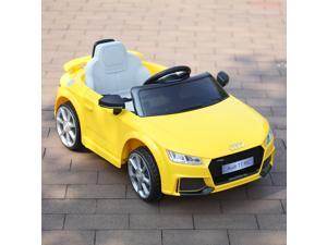 12V Kids Ride On Car Audi TT RS W/2.4G Remote Control Battery Power Riding