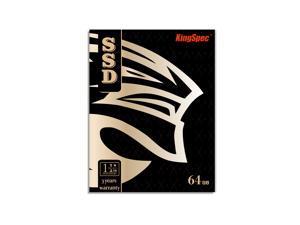 KingSpec 64GB SSD 2.5 Inch Hard Drive SATA3 Internal Solid State Drive (P3-64)