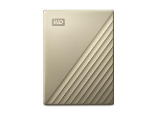 WD 4TB My Passport Ultra Portable Storage External Hard Drive USB-CGold WDBFTM0040BGD-CESN