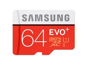 SAMSUNG EVO Plus 64GB microSDXC Memory Card Model MB-MC64G UHS-3/U3 Speed Up to 100MB/s