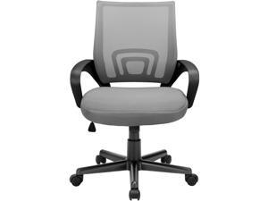 Vitesse Office Chair Mesh Desk Chair Ergonomic Computer Chair with Lumbar Support Modern Executive Adjustable Chair Rolling Swivel Chairs for Women Men,Grey