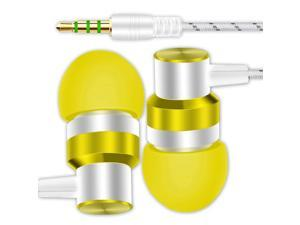 3.5mm Wired Earphone Bass Metal In-Ear Earbuds Headphones For Phone/ MP3/ MP4