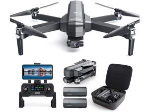 DEERC DE22Pro GPS Drone with 4K Camera 2-axis Gimbal, EIS Anti-Shake, 5G FPV Transmission, Brushless Motor, 52 Mins Flight with Carry Case