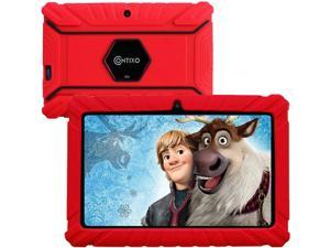 Contixo V8-2 7 inch Kids Tablets - Tablet for Kids with Parental Control - Android Tablet 16 GB HD Display Durable Case & Screen Protector WiFi Camera-Learning Toys for 2 to 10 Years Old (Red)