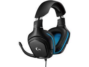Logitech G432 3.5mm/ USB Connector Circumaural 7.1 Surround Sound Wired Gaming Headset