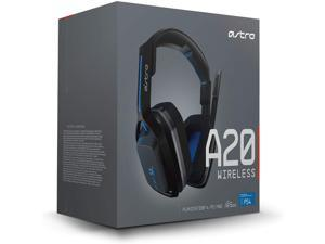 ASTRO Gaming A20 Wireless Headset, Black/Blue (PlayStation 4)