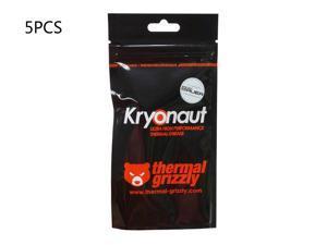 5-Pack Thermal Grizzly Kryonaut Thermal Grease Paste - 1.0 Gram Model TG-K-015-R-1g